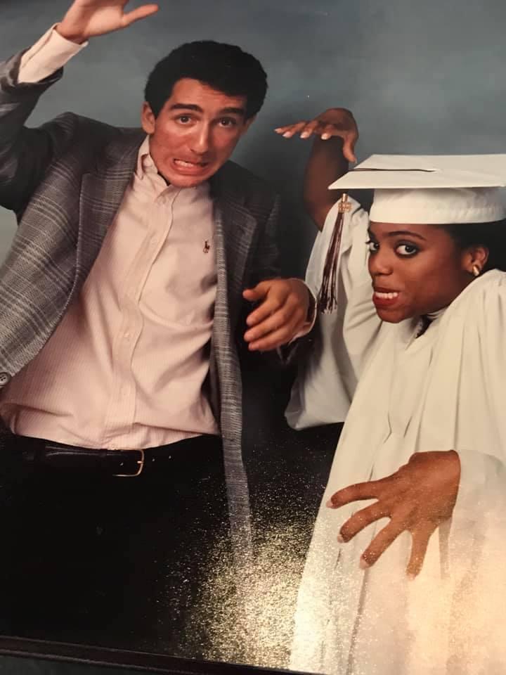 bill and rhonda graduation silly